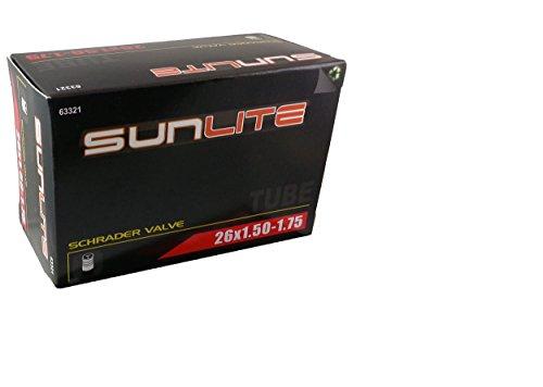 Tube, 26 x 1.50-1.75 32mm Standard Schrader Valve, Sunlite