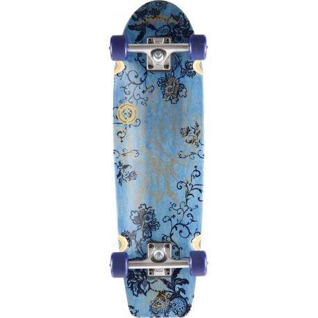 "Flying Wheels, Skateboard completo Fortune, Blu (Navy), 29,25"""