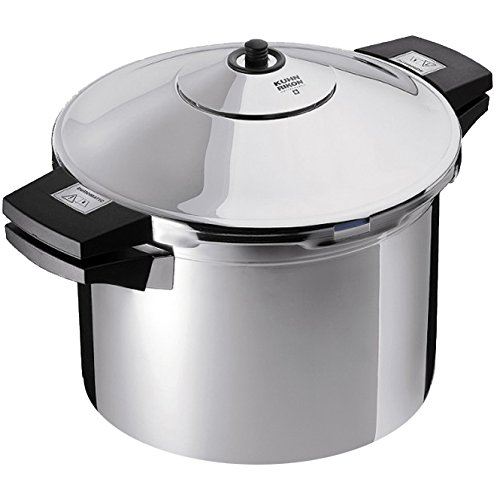 Kuhn Rikon Stainless-Steel Pressure Cooker, 6 qt