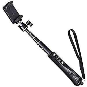 extendable selfie stick cootree ks 01 bluetooth selfie pole self shooting monopod with. Black Bedroom Furniture Sets. Home Design Ideas