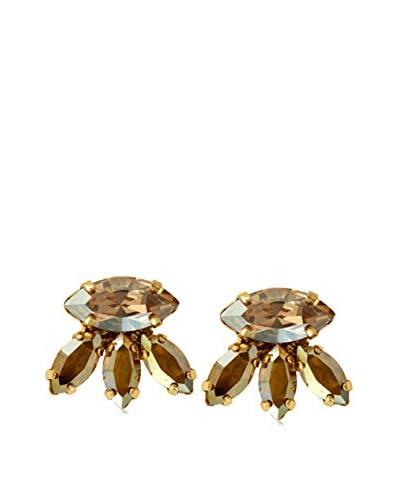 Tova Marquise Gold Swarovski Elements Earrings As You See