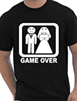 Game Over Funny Stag Do Stag Night Wedding Mens T-Shirt Size S-XXL
