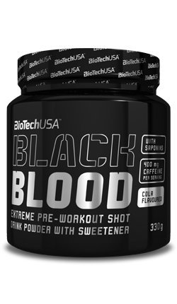 BiotechUSA Black Blood Cola 330g