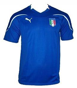Puma - Maillot officiel de l'Italie Squadra Azzura Home Domicile Adulte - Taille L