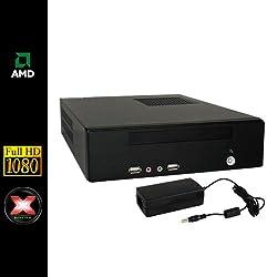 Sedatech - Mini-PC Multimedia - AMD E-350 2x1,6Ghz - 4Gb RAM - 500Gb HDD - Radeon HD6310 - DVD-RW - Full HD 1080p