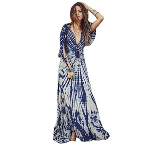 Creazy® 2016 Women Maxi Long Beach Dress (XL)