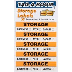 Storage Moving Labels Identify box contents