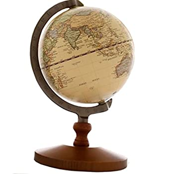 VStoy Vintage Reference World Globe Home Work Decor Wedding Educational Gift 14cm