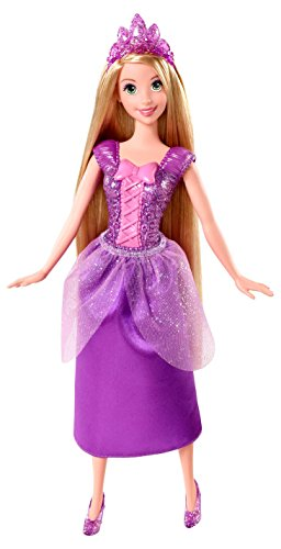 Disney Princess Sparkling Princess Rapunzel Doll - 1