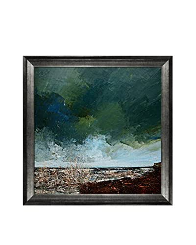 "Justyna Kopania ""Sea"" Framed Canvas Print"