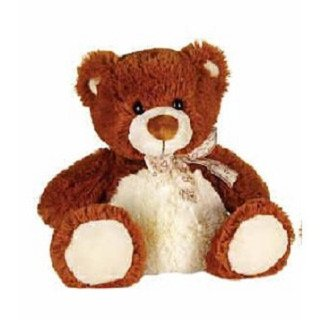 Dark Brown Sitting Bear 8