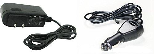 Super Power Supply® AC / DC Adapter Cord 2 in 1 Combo Wall + Car Charger for Kobo eReader Touch N905-KBO, N905-KBO-B, N905-KBO-S, N905-KBO-L, N905B, N905C ; Arc K107-KBO, T647, T416, 7, 10, HD, K110 ; Aura N514, KBN514, HD, N204B ; Glo N613 ; Mini N705-k