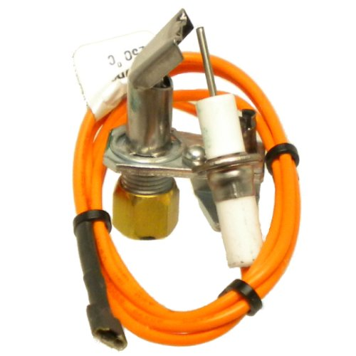 Duralight Furnace Spark Ignition Pilot Burner Replacement For Rheem Ruud Weatherking 62-21743-05 (Natural Gas Furnace Orifice compare prices)