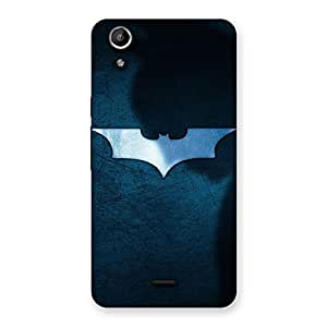 Gorgeous Premier Blue Knight Multicolor Back Case Cover for Micromax Canvas Selfie Lens Q345