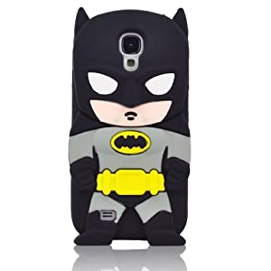 Yuersal 3D Batman Silicone Jelly Soft Skin Case Cover for Samsung Galaxy S4 mini i9190 i9195 at Gotham City Store