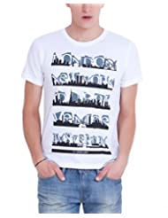 Elaborado Men Round Neck Cotton T-Shirt