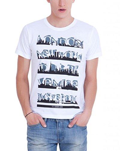 Elaborado Men Round Neck Cotton T-Shirt