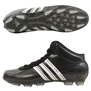MENS ADIDAS SCORCH 7 FT MID FOOTBALL CLEATS 13 NEW