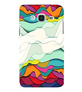 PRINTVISA Abstract Modern Art Case Cover for SAMSUNG GALAXY J3 (2016) EDITION
