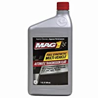 Mag 1 62555 Full Synthetic Multi-Vehicle Automatic Transmission Fluid - 1 Quart, (Pack of 6) by Mag 1
