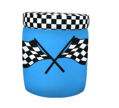 Harmony Kids Racing Cars Ottoman - Blue