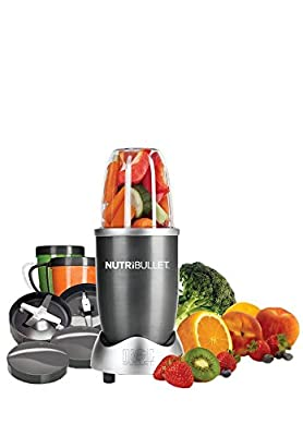 Nutribullet Red 8-Piece Set with Bonus NutriBlast Superboost Powder