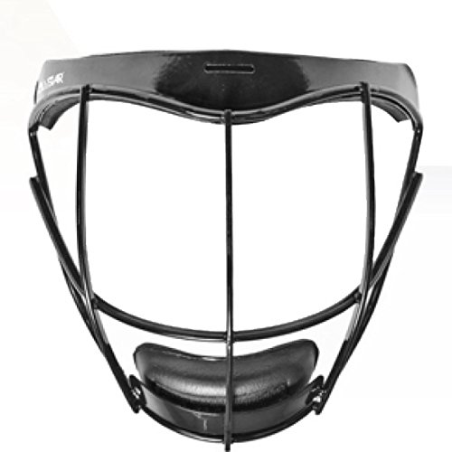 All Star Vela Fastpitch Softball Faceguard Black back-165261