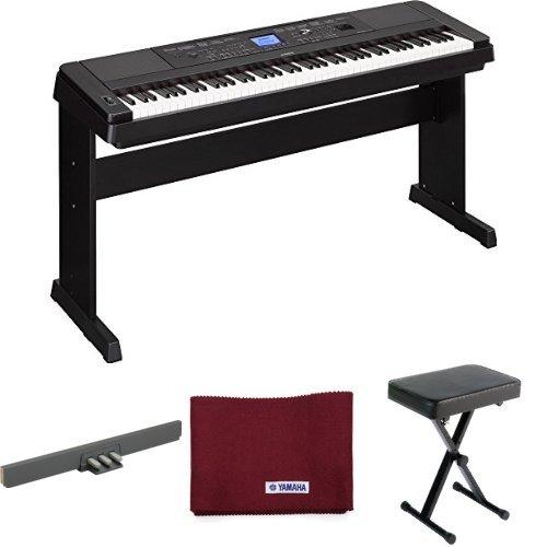 Yamaha dgx 660 premium digital piano with matching stand for Yamaha piano pedal unit