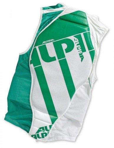 Alpina Protector Jacket Soft (Größe: M = Körpergröße ca. 173-178 cm, Farbe: 14 weiß/grün)