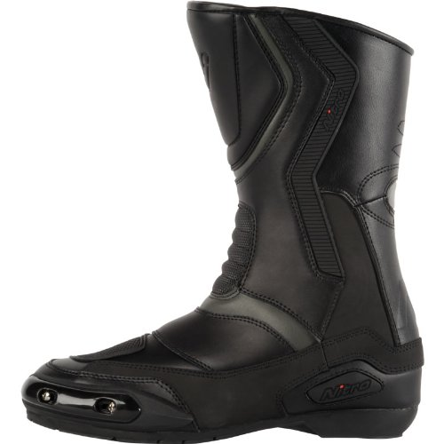 104054 - Nitro NB-41 Motorcycle Boots 8/42 Black/Grey (11)