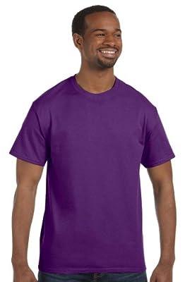 Hanes - 6 oz. Tagless T-Shirt >> 2XL,VIOLET