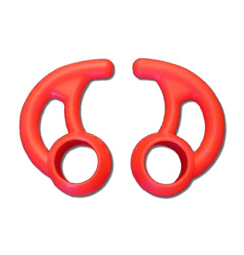 Far End Gear Budloks Earphone Sport Grips, Red