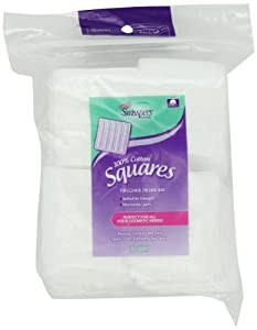 Swisspers Cotton Squares, 80 Count