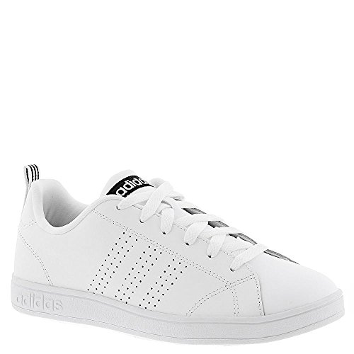 Adidas NEO Women's Advantage Clean VS W Casual Sneaker,White/White/Black,9 M US