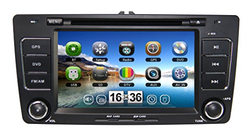 Zestech Touch Screen Car Dvd Player For Skoda Octavia Ii 2013 With Radio Multimedia Navigation System