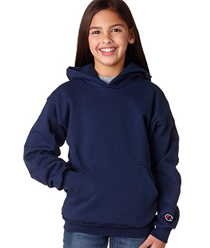 Champion Boys Eco½ Pullover Hooded Fleece -Navy-Large-12PK куртка everlast hooded bubble navy купить