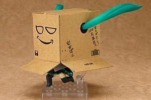 ねんどろいど 週刊はじめての初音ミク (ノンスケール ABS&PVC塗装済み可動フィギュア) Amazon.co.jp限定 「Amazon.co.jpダンボール ペーパークラフト」付き