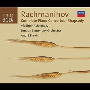 Rachmaninov: Complete Piano Concertos/Rhapsody