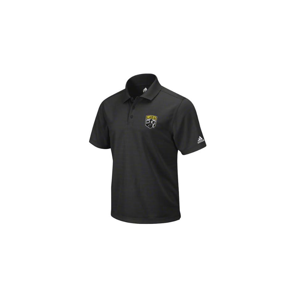 Columbus Crew Black adidas Soccer Team Primary Polo Shirt