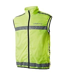 Craft Men's Active Running Safety Vest Neon X-Large