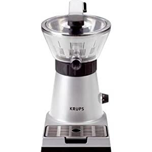 KRUPS ZX7000 Stainless Steel Citrus Press Juicer