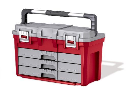 Images for Keter 17186722 3 Drawer Tool Box