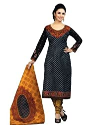 Airfashion Women's Unstiched Dress Material (SG-721_Multi_Free Size)