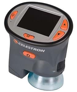 Celestron Microscope numérique de poche avec écran LCD