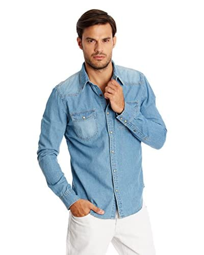 New Caro Camicia Denim [Blu Chiaro]