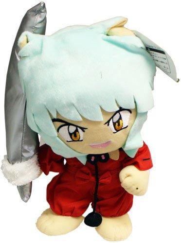 Inuyasha: Inuyasha with Tetsusaiga Sword 12″ Plush image