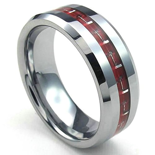 daesar-stainless-steel-rings-mens-comfort-rings-8mm-carbon-fiberring-men-wedding-bands-silver-size11