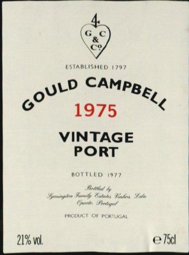 1975 Gould Campbell Vintage Port 750 Ml