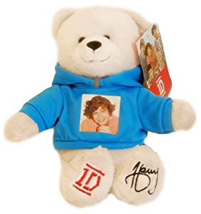 One Direction 9-in Collectible Bear - Harry - Blue - 1d by i-Star Entertainment