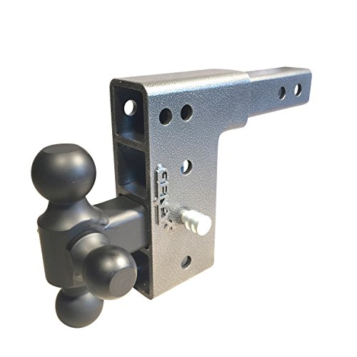 Cheap Drop Hitch Tri Ball Mount 2 Receiver By GENY Economy Class III GH-1114 7 Dual Receiver Drop ...
